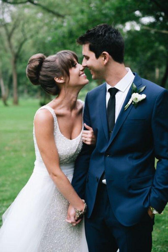 Notch Lapel Two Buttons Men Suits Custome Made Fashion Tuxedos Wedding Suits For Men Formal Blazer Slim FitSuit(Javket+Pant+Tie)