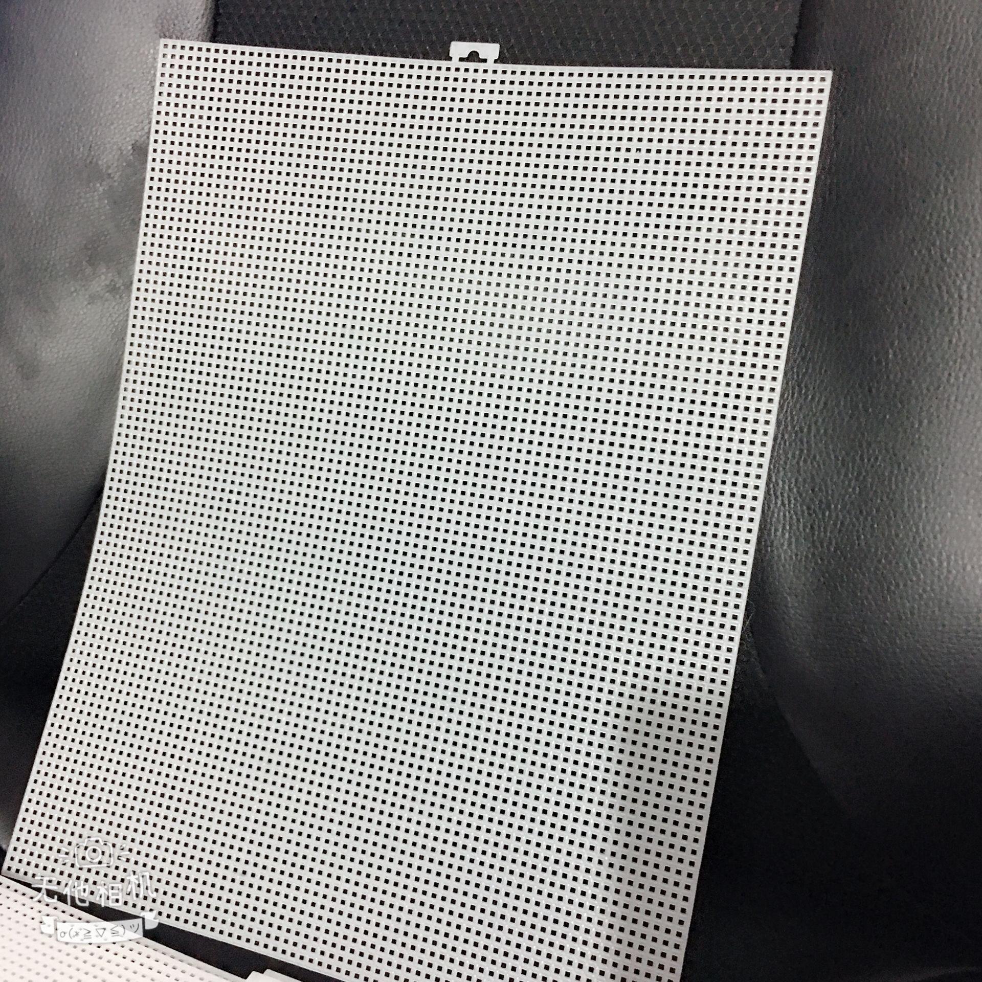 Clear Plastic Canvas Fabric Cross Stitch Kit Set Tissue Box 3D Cartoon Cross Stitching Embroidery 7ct26x33.5cm