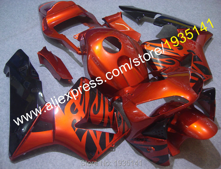 Hot Sales,Injection Fairings For Honda CBR600RR 2003/2004 Parts CBR 600 RR 03 04 Motorcycle Fairing Fitting (Injection molding)