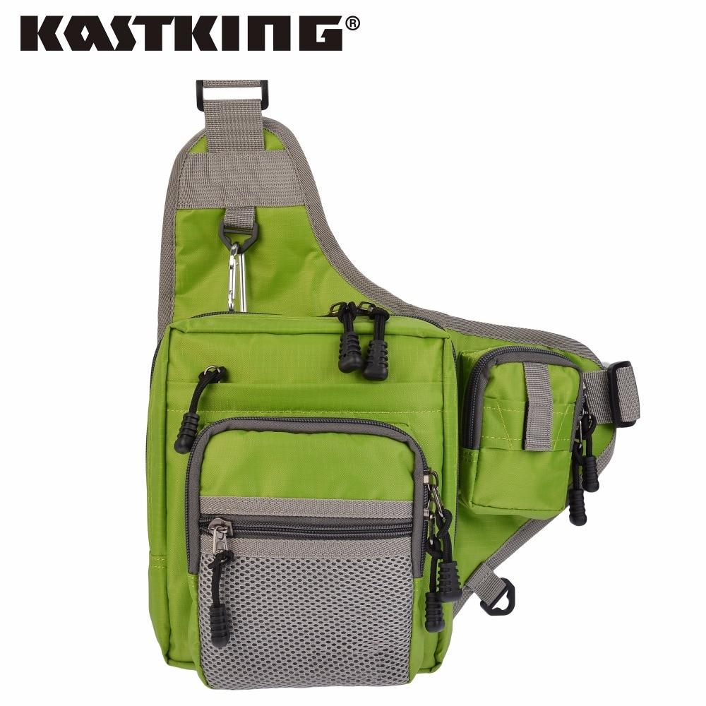 Prix pour Grand Escompte! KastKing Marque 2017 Étanche Taille S'attaquer Sac 32*39*12 cm Multifonction Leurre De Pêche Sac pour la Randonnée Sport sac