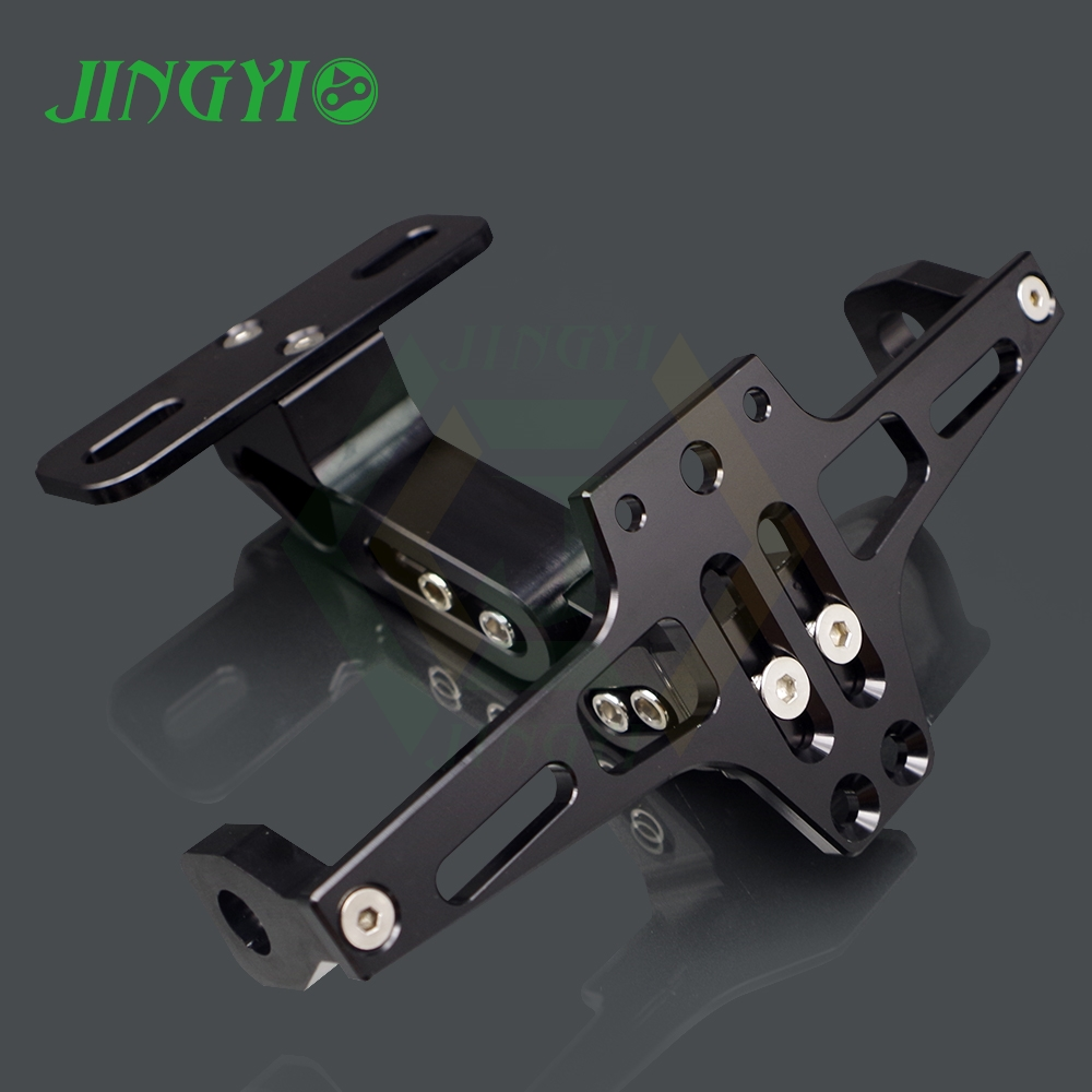 W169 Motorcycle license plate number holder FOR APRILIA RS SUPPORT DE PLAQUE MOTO UNIVERSEL YAMAHA