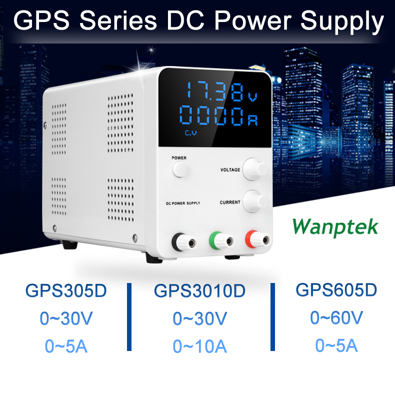 Mini Adjustable Digital DC Laboratory Switch Power Supply Multifunction LED Lab Power Source Bench Power Supply