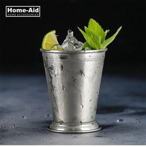 Copo de vidro cocktail copo copo copo copo copo de vinho de aço inoxidável julep copo cocktail taça cerveja caneca drinkware cozinha ferramenta