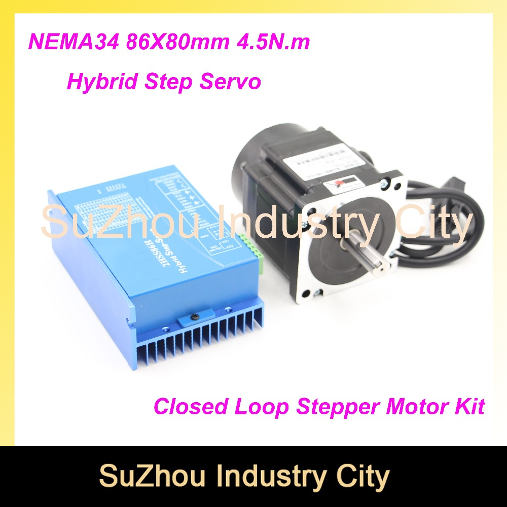 Buy Nema 34 Closed Loop Stepper Motor 4