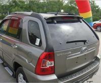 PAINT ABS CAR REAR WING TRUNK LIP SPOILER FOR Kia Sportage 2007 2008 2009 2010 2011 2012 2013