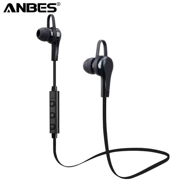 Bluetooth Sport Earphone 4.1 Wireless Headphones Stereo Bluetooth Earbuds Handfree Headset With Mic for iPhone 8 Xiaomi Samsung 100% original bluetooth headset wireless headphones with mic for blackview bv6000 earbuds