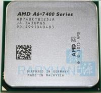 AMD A6 Series A6 7400K A6 7400 A6 7400K Dual Core 3.5G 65W AD740KYBI23JA Socket FM2+