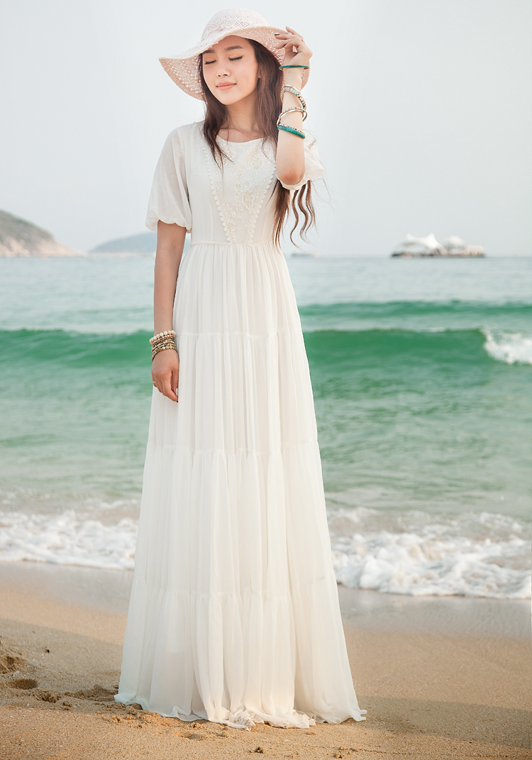 3b06c7037c Detail Feedback Questions about 2018 Summer Maxi Dress Fashion ...