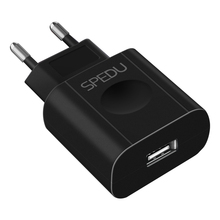 SPEDU Portable USB Charger EU Mobile Phone Charger Adapter Wall Travel Charger Micro USB Cable For Xiaomi For Samsung Universal