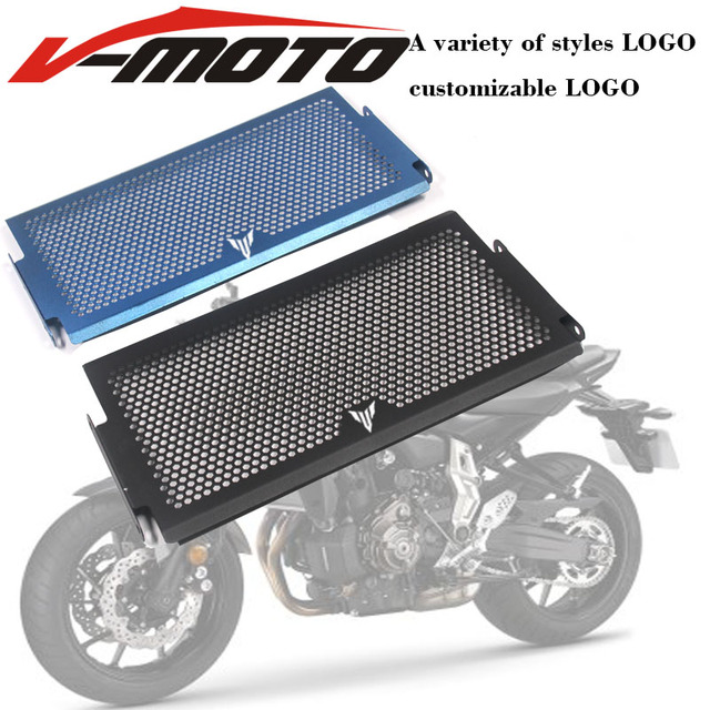 Para Yamaha Mt07 Tracer Mt-07 FZ07 FZ-07 07 MT 2014-2018 radiador capa protetora Guardas Grade de Radiador Capa Protecter