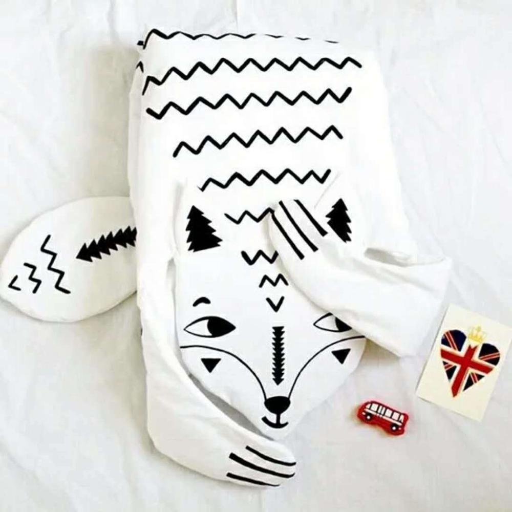 8 видов стилей модное мягкое детское одеяло игровой коврик детское одеяло-плед в виде медведя Тигр пеленальный коврик животных ковер теплый медведь игровые коврики осень-зима - Цвет: new fox