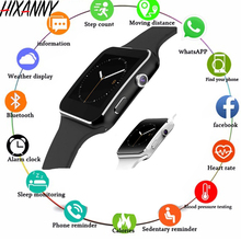 New X6 Smart Watch with Camera Touch Screen Support SIM TF Card Bluetooth men Smartwatch for iPhone Xiaomi Android Phone GT08 U8 fashion u11c bluetooth smartwatch leather strap for samsung iphone htc call answering dial media players u8 sim card support