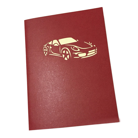 Handmade 3d pop up sports car birthday cards creative greeting cards package contents 1x greeting card note light shooting and different displays may cause the color of the item in the picture a little different from the m4hsunfo