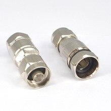 2 шт. N Тип Мужской коаксиальный разъем для 1/2 радиочастотный беспроводной кабель связи