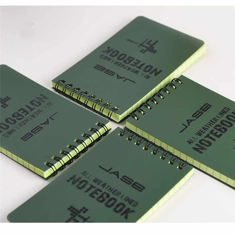 Yeni Su Geçirmez Not Defteri Yabancı Dil Öğrenme Bobin Kitap Kelime Taşınabilir Cep Dizüstü Günlüğü Not Defteri Seyahat Günlüğü Kitap