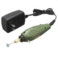 Electric Grinder Mini Drill For Dremel Grinding Set 12V DC Dremel Accessories Tool For Milling Polishing