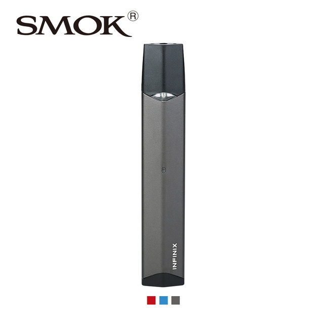 US $18 0 |Original SMOK Infinix Starter Kit with Built in 250mAh Battery &  2ml Pod No Fire Key & Up/down Buttons Pod Vape Kit Vs SMOK Novo-in