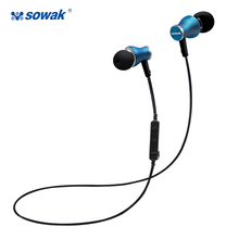 Sowak S11 4 1 Bluetooth Earphones Wireless gaming Headset Microphone AptX Sport Earphone for iPhone Android