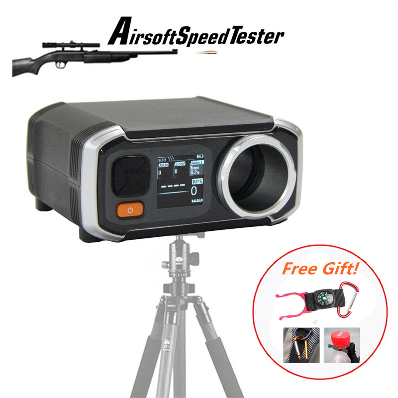 Airsoft AC6000 Better Than X3200 Shooting Chronograph Speed Tester with Pixel OLED FPS Chrono 7 0003