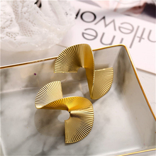 Gold Color Big Earrings For Women Fashion Hyperpole Statement Female Jewelry Drop Brincos