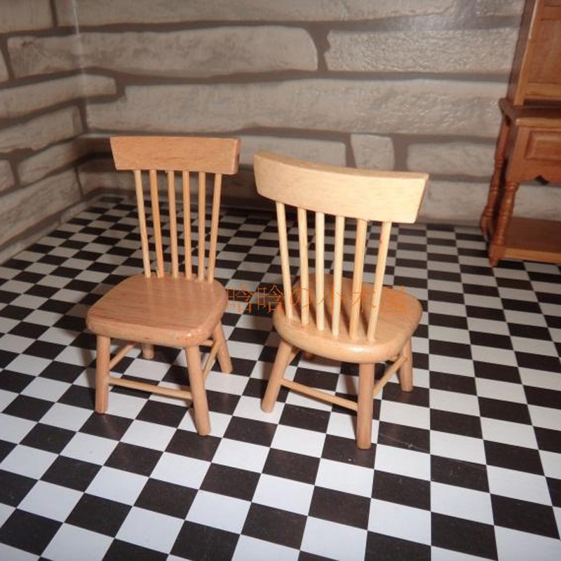 Dining table and chair set doll house 13