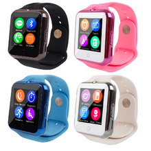 Heart Rate Monitor V88 Smart Watch Support GSM/GPRS SIM TF Card Smartwatch Sync Notifier Wristwatch Sport Clock for Kid Boy Girl