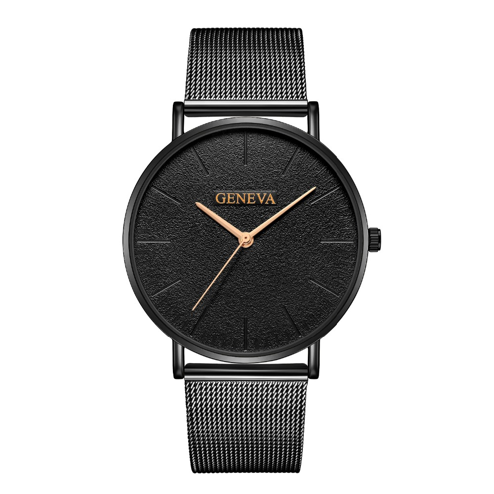New Ultra-thin Women's Watch 2019 Lover's Watch Luxury Quartz Casual Watch Women Stainless Steel Mesh Strap Watches Reloj Mujer