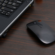 2.4G USB Optical Wireless Computer Mouse 1600 DPI Ultra Slim Mouses For PC Laptop Desktop 8 DJA99