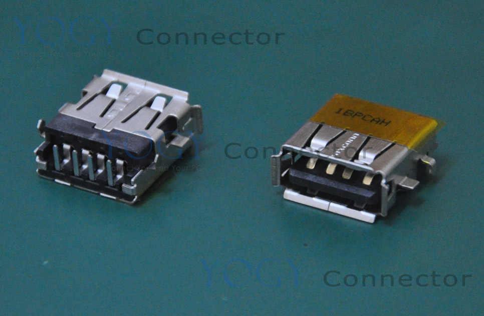 10 штук в наборе USB разъем совместим с Asus F5RL F5SR F5SL X50 G73 G74SX U35F серии и другие материнская плата для ноутбука гнездовой usb-разъем порт
