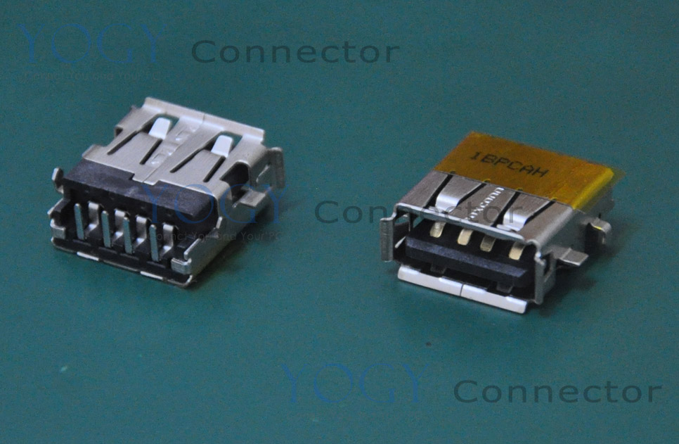 10pcs USB Jack fit for Asus F5RL F5SR F5SL X50 G73 G74SX U35F Series and other laptop motherboard female usb connector port
