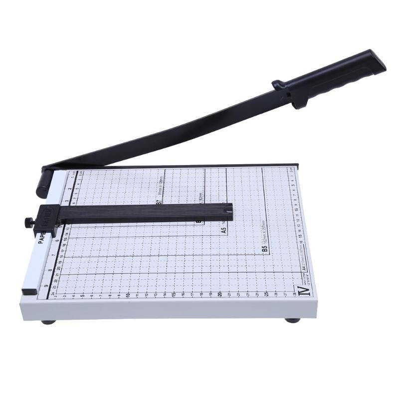 Heavy Duty Professional A4 Paper Cutter Guillotina Paper cutters Trimmer Machine Home Office School Home Supplies Paper Cutter paper trimmer paper cutters crafts usb port red dot positioning a4 vinyl cutting plotter with ce certificate infrared cutter