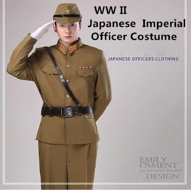 Detail Feedback Questions about WW II Japanese Imperial officer