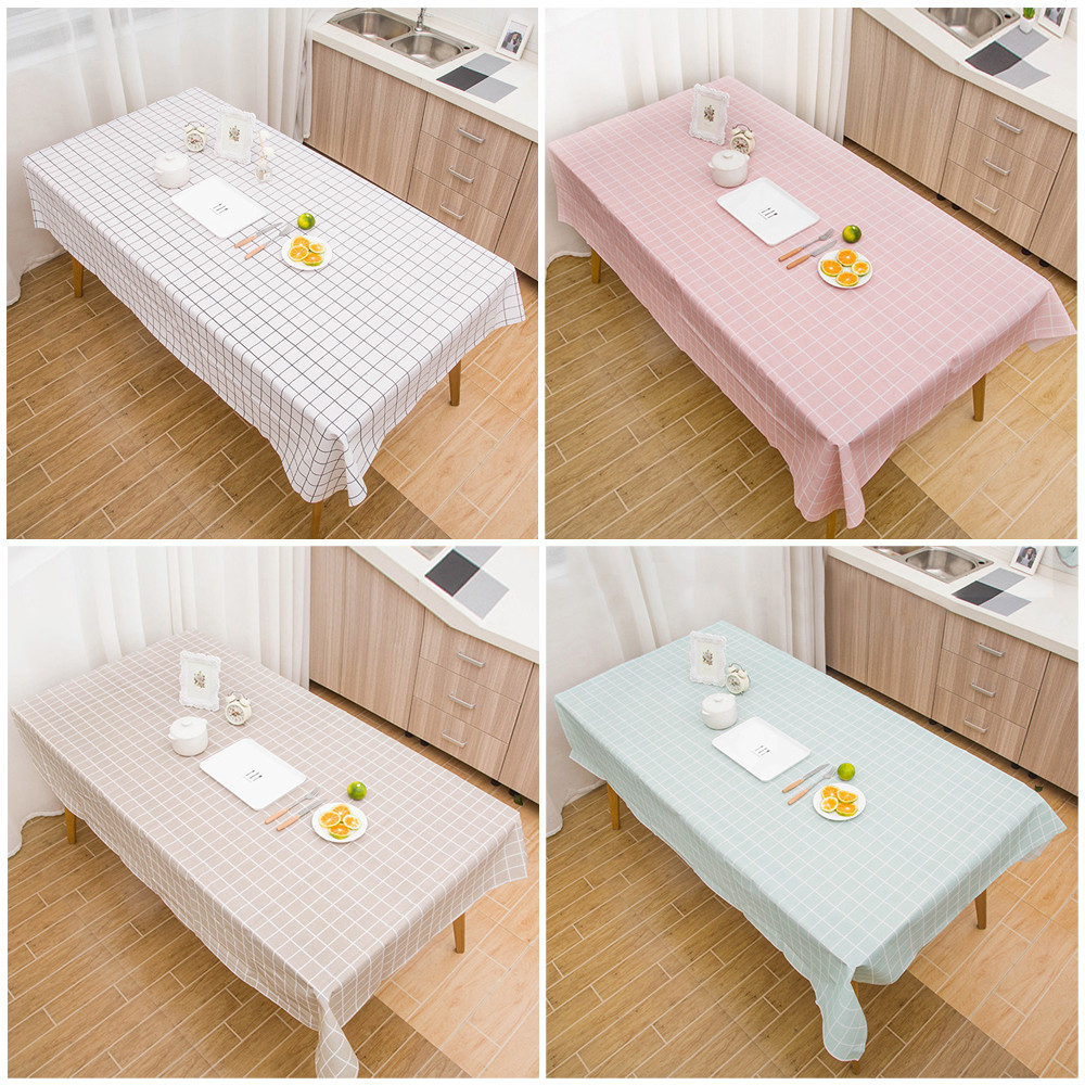225 & US $2.25 27% OFF|Large Rectangle Table Cover Cloth Wipe Clean Party Tablecloth Covers Plastic Table Cover Cloth Wipe Clean Party Tablecloth-in ...