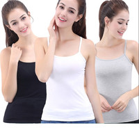 White Tank Top High Quality For Women 3 Pieces 100% Cotton Summer Top Women Clothes 2019 Top Mujer Plus Size Top Femme Xl5091