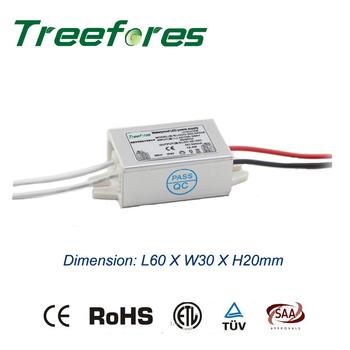 6W 8W 10W 12W Slim LED sterownik IP67 IP20 DALI Triac 0-10V 1-10V PWM ściemniania transformator CE RoHS zasilacz AC do DC 12V 24V tanie i dobre opinie Treefores Brak DC12V 24V Aluminum IP67 12V 24V LED Driver Transformatory oświetleniowe 3 Years 0 2kg TFR-H7-V10W AC100V-240V
