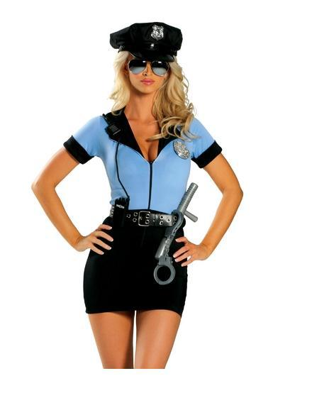 Moonight Police Party Costume Sexy Female Police Uniform -1791