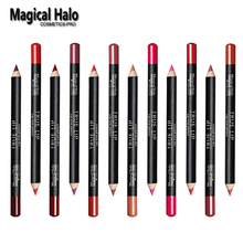 Гало волшебный контур матовая косметика губ карандаш макияж набор шт./лот цвет