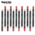 12pcs/lot 12 Color Magical Halo Lip Liner Pencil Waterproof Lipliner Contour Cosmetics Makeup Lip Liner Set Lip Pencil Matte