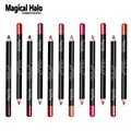 12pcs/lot 12 Color Magical Halo Lip Liner Pencil Waterproof Lipliner Contour Cosmetics Makeup Lip Liner Set Lip Pencil Matte