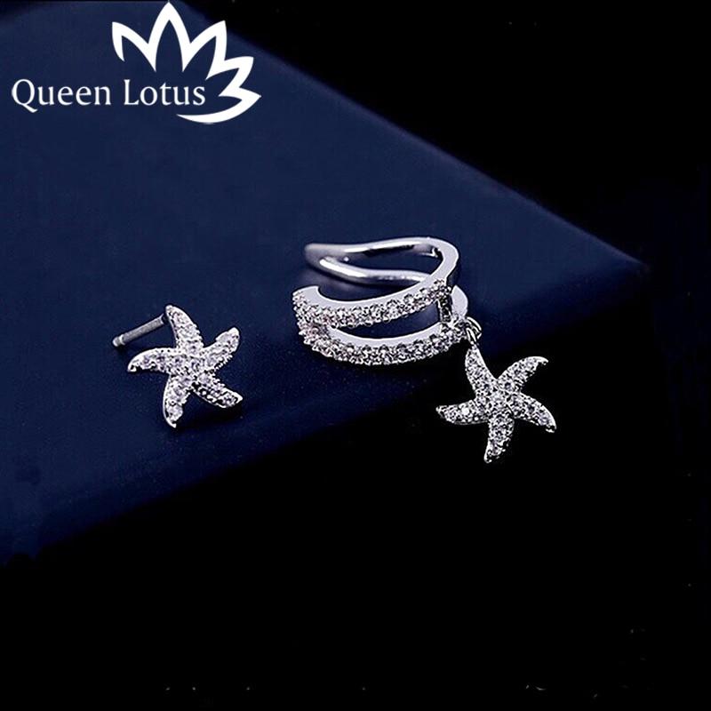 Asymétrique Pendants d/'oreilles Moon Star Tassel Boucles d/'oreilles femme Fashion Jewelry Gift