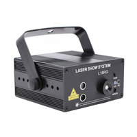 Mini Projector Laser Disco Party Show Lights Red Green Patterns Remote Control Home Entertainment Lighting