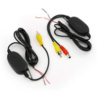 2 4 Ghz Wireless Video Transmitter Receiver Kit For Car Monitor To Connect The Car Rear