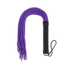 8 Strands of Leather Multiple Whip, Silicone Whip, Spanking Paddle  Whips Slave Restraints Bondage Flogger Adult Games Sex Toys
