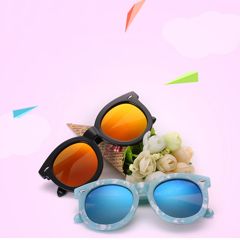 LAOKE Child Round Polarized plastic and metal Sunglasses girl  Sun Glasses Outdoor Sport Goggles  WD551 aoron 2017 men brand designer driving classic polarized sunglasses goggles uv400 pilot eyewear sun glasses oculos de sol a210