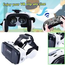 มาใหม่VR BOSSความจริงเสมือนแว่นตา3Dสำหรับชุดหูฟัง3Dภาพยนตร์วิดีโอGam 3D VR Goolge Carbboard Realidadเสมือนแว่นตา