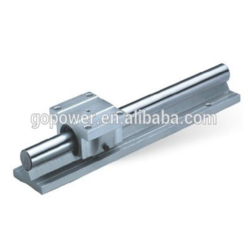 2pcs TBR20 L400mm Aluminum Support Linear Shaft Rails+4PCS TBR20UU Linear Bearing Block