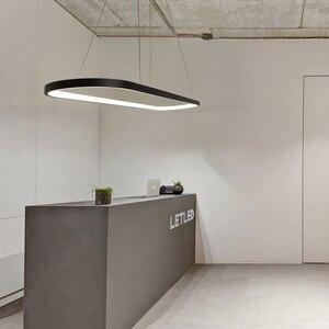 Image 5 - Длина 700/900/1200 мм современные светодиодные подвесные светильники для столовой кухни высокая яркость подвесной светильник лампа