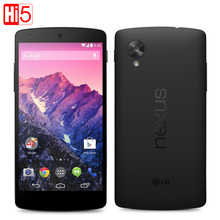 LG Nexus 5 Original Unlocked GSM 3G&4G Android WIFI GPS 4.95'' 8MP 16GB Quad-core RAM 2GB Mobile phone Dropshipping