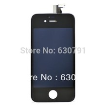 High Quality Type LCD Display+Touch Screen digitizer+Frame assembly for iPhone 4S, 100% New LCD,Black/white