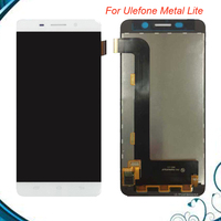 100 Tested OK For Ulefone Metal Lite LCD Display Touch Screen Digitizer Assembly Digitizer Panel Replacement